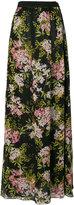 Giambattista Valli long floral skirt - women - Silk/Cotton/Viscose - 40