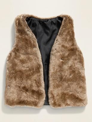 Old Navy Faux-Fur Vest for Girls