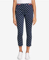 Tommy Hilfiger Dot-Print Elastic-Waist Pants, Created for Macy's