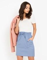 Lost Ink Laundered Paperbag Skirt