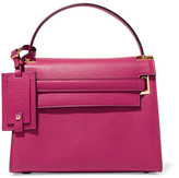 Valentino My Rockstud Small Textured-leather Tote - Pink