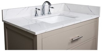 """37"""" Single Bathroom Vanity Top Renaissance Vanity"""