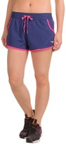 Pony Micromesh Running Shorts - Built-In Briefs (For Women)