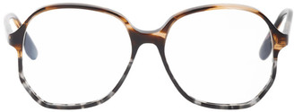 Victoria Beckham Tortoiseshell Oversized Vintage Glasses