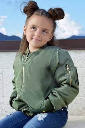 Cutie Patootie Girls Bomber Jacket