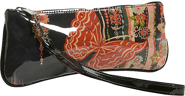 M. Andonia Madame Butterfly Wristlet