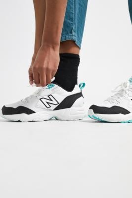 New Balance WX708 Teal Trainers - White UK 4 at Urban Outfitters