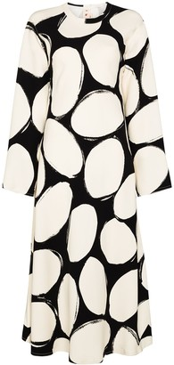 Marni Polka Dot Midi Dress