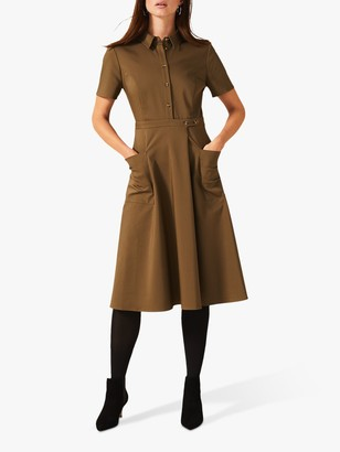 Phase Eight Valeria Utility Dress, Khaki