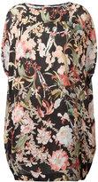 I'M Isola Marras floral print drawstring dress