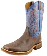 Justin Boots Justin Western Boots Mens Leather Square Toe Brown Royal BR746