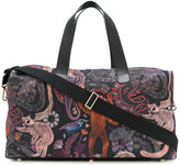 Paul Smith ape print holdall - men - Calf Leather/Polyester - One Size