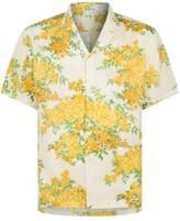 John Elliott Floral Bowling Shirt