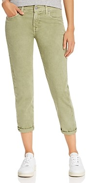 AG Jeans Ex-Boyfriend Slim Jeans in Sulfur Olivewood - 100% Exclusive