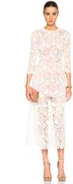 Fleur Du Mal Guipure Lace Dress