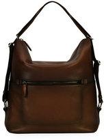 Salvatore Ferragamo Runway 24 Hour Shoulder Bag, Brown