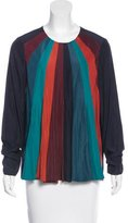 Lanvin Colorblock Swing Blouse