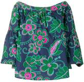 Michel Klein floral print blouse