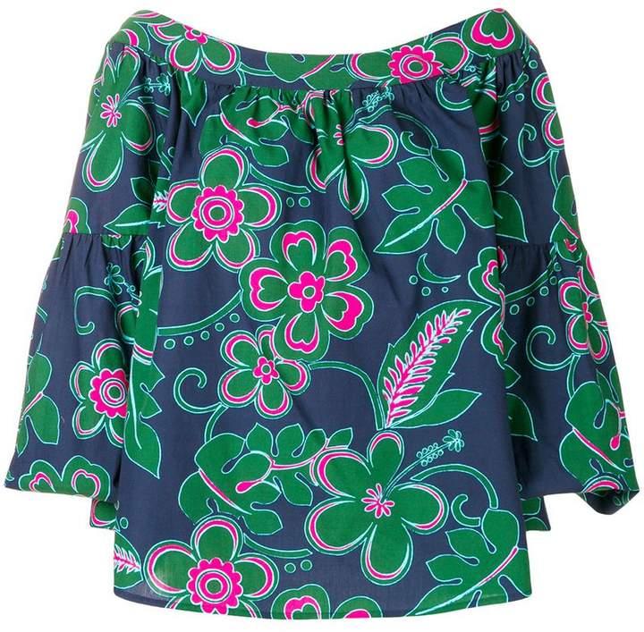 Michel Klein X Mimi Liberté floral print blouse