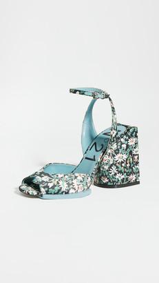 No.21 Floral Sandals
