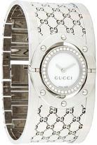 Gucci Twirl Diamond 112 Watch