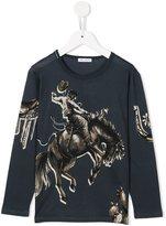 Dolce & Gabbana cowboy print T-shirt