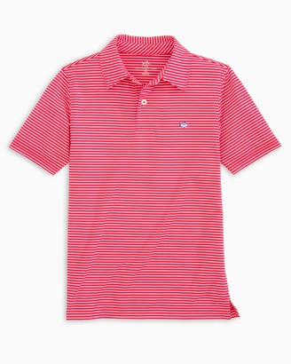Southern Tide Boys Driver Striped Performance Polo