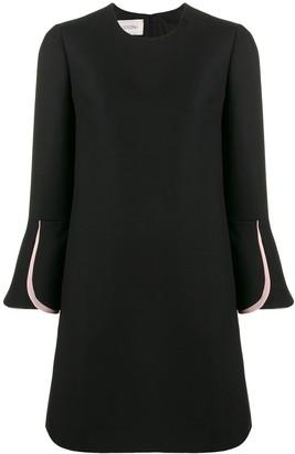 Valentino Two-Tone Mini Dress