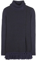 Proenza Schouler Frayed Wool And Cotton-blend Sweater