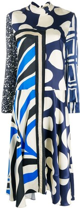 Marni Mixed Print Dress
