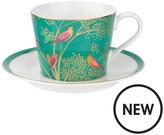 Portmeirion Sara Miller Chelsea Tea Cup & Saucer Set
