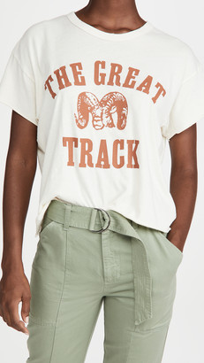 The Great The Crop Tee with Ram Graphic