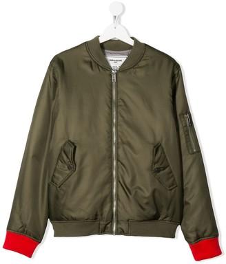 Zadig & Voltaire Kids TEEN Benet bomber jacket