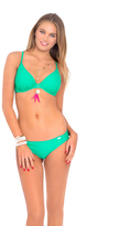 Luli Fama Cosita Buena Underwire Adjustable Top In Mermaid Crossing (L176293)