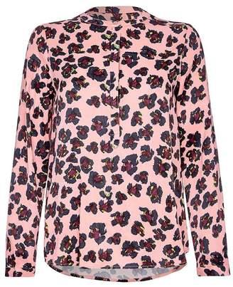 Nooki Design Diana Blouse - Pink Leopard