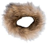 Adrienne Landau Raccoon Fur Collar