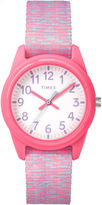 Timex Girls Pink Strap Watch-Tw7c123009j