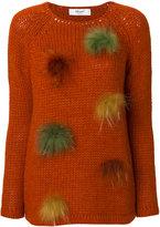 Blugirl pompom sweater