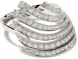 Brumani 18kt white gold Buriti diamond ring