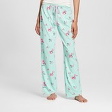 Women's Pajama Knit Pant Bleached Aqua - Xhilaration