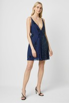 French Connenction Aurora Embellished Wrap Dress