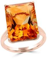 Bloomingdale's Citrine Statement Ring in 14K Rose Gold - 100% Exclusive