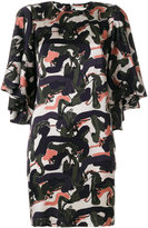 L'Autre Chose camouflage print dress