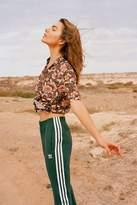 adidas Green 3-Stripe Track Trousers