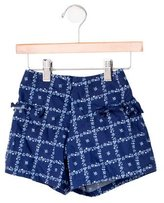 Jacadi Girls' Patterned Shorts