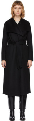 Mackage Black Wool Mai Coat