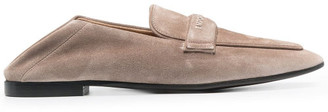 Emporio Armani Leather Loafers