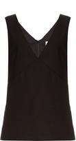Raey V-neck cotton-blend day top