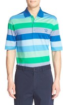 Paul & Shark Stripe Piqué Cotton Polo