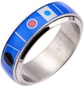 Star Wars Men's R2D2 Droid Spinner Fashion Ring 316 Stainless Steel, Bin 51 sz 11.0